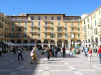 Plaza Major in Palma de Mallorca